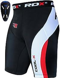 RDX Neoprene Homme Short de Compression Cuissard Coquille Tight Running Caleçon Boxer Sport Triathlon