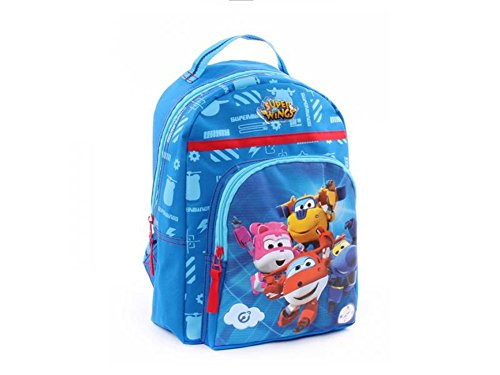 Super wings , zainetto per bambini blu blau
