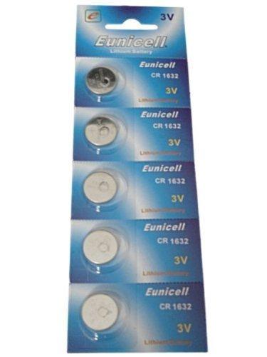 10 x CR1632 pour lm1632 CR 1632 cellules des piles bouton au lithium 3 V