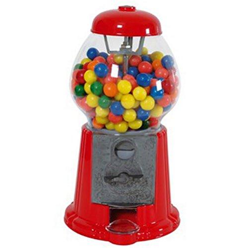 dispenser chewing gum caramelle rosso piccolo, funge anche da salvadanaio