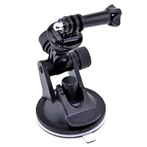 Patuoxun® Car Windowscreen Glass Suction Cup Mount + Tripod Mount+Handle Screw for GoPro HD HERO HERO2 HERO3 Camera