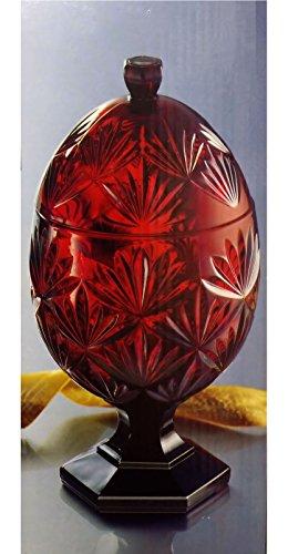 Luminarc Ruby Ei Candy Gericht 81/5,1cm hoch entworfen von cris D 'Arques Made in Frankreich -