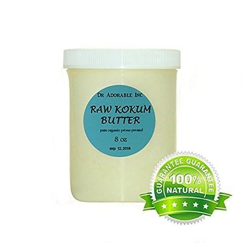 Kokum Butter RAW Organic 100% Pure 8 Oz