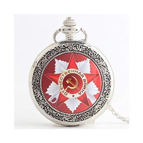 Reloj bolsillo, Cuarzo conmemorativo, Martillo Hoz