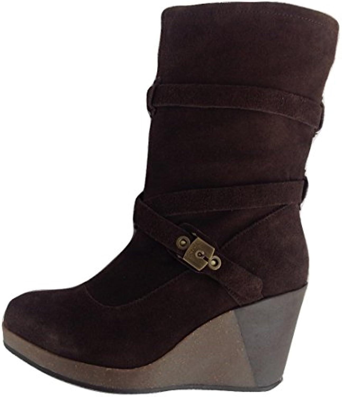 52cbce5e08d748 dr scholl kessy wo wedge chaussures bottes wedge talons talons talons  marron foncé 1019 (ue 36 / uk 3 b00mrsrk7y parent | Dans De Nombreux Styles  8a59f5