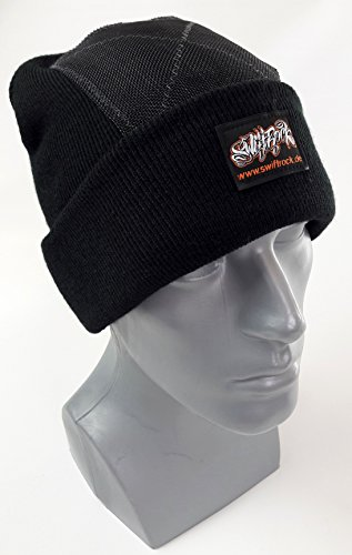 Swift Rock Classic Break Dance Headspin Beanie (Schwarz / Black)