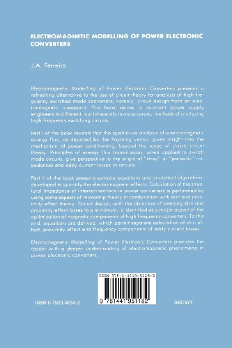 Electromagnetic Modelling of Power Electronic Converters (Power Electronics and Power Systems)