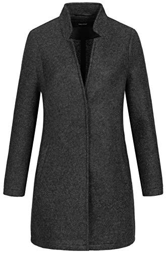 Vero Moda Vmbrushedkatrine 3/4 Jacket Boos Abrigo de Mezcla de Lana, Gris, XL para Mujer