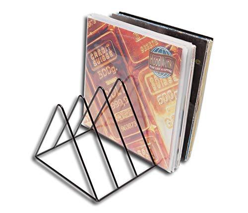 Vinyl Record Holder Triangle Schallplattenständer Protected (Regale Zoll 12 Metall)