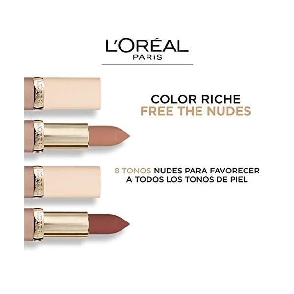 L'Oréal Paris Color Riche Free The Nudes