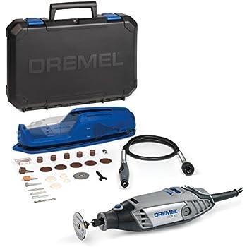 Dremel Multifunktionswerkzeug 3000-1/25 EZ (25tgl. Zubehör Set, Vorsatzgerät, Werkzeugkoffer, 130 Watt)