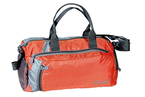 Nylon Light Weight UniSex Orange Color Easies Gym Bag