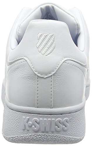 K-Swiss Classic Vn M, Baskets basses homme Blanc (White/White 101)