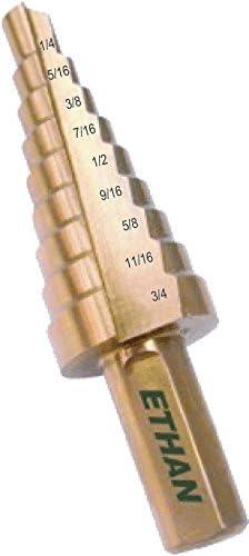 Ethan 31011 3 8-inch gambo fresa a gradini, 1 5,1 5,1 5,1 cm da 2,5 cm | Qualità e consumatori in primo luogo  | marche  | Vinto altamente stimato e ampiamente fidato in patria e all'estero  | Aspetto Attraente  | lusso  | Sale Online  | Funzione speciale  3605d2