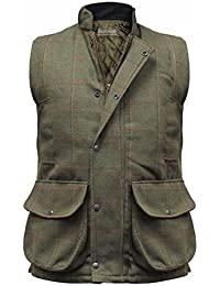 Hombre Hereford Tweed Chaleco Country Chaleco Térmico CAZA 0e40980210c85
