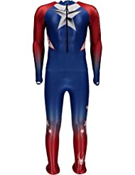 Combinaison De Ski Compétition Spyder Men's Performance Gs Red White Blue