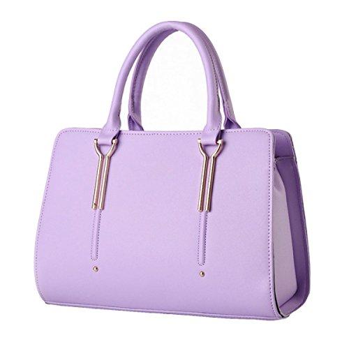 Frauen Handtasche Mode Schulter Tot Pack Purple