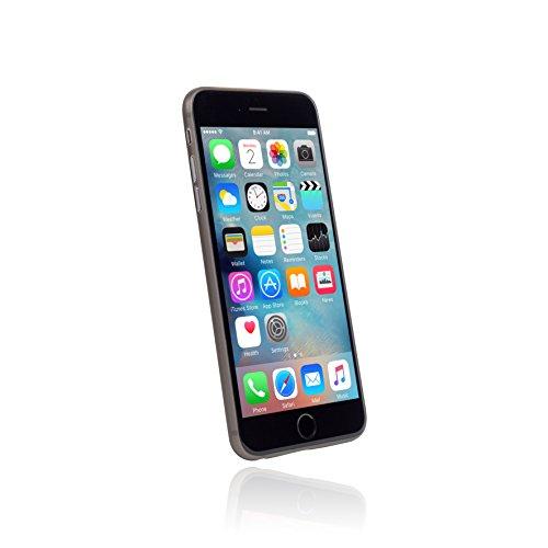 hardwrk ultra-slim Case für iPhone 6 6s Plus - solid black - ultradünne Hülle für Apple iPhone in schwarz frosted black