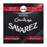 Savarez 510 CRH New Cristal CANTIGA Polished Satz, Normal Tension (rot)