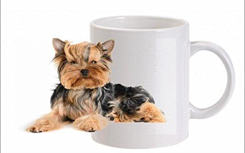 Yorkshire Terrier (bouche) Mug en céramique – Résiste au lave-vaisselle (FC) 260