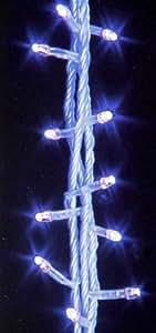 Guirlande lumineuse 9.5M Ampoule LED Bleue EFFET VAGUE