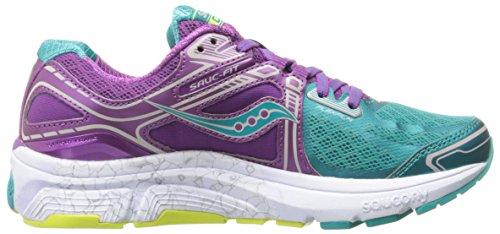 Saucony Omni 15, Chaussures de Running Entrainement Femme Tea/Purple