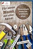 Geburtstagskarte für Männer und Handwerker, mit Button,Männergeburtstag, inkl.Kuvert