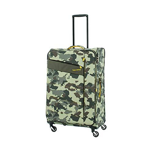 Travelite Kite 4-Rollen-Trolley L 75 cm erweiterbar, one size, Camouflage