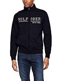 Tommy Hilfiger Demi Z-Thru L/S Vf, Sweat-Shirt à Capuche Homme