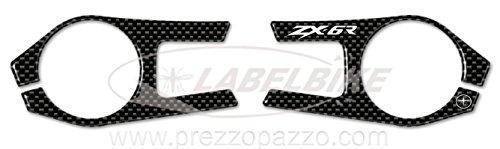 PROTEZIONE gel 3D PIASTRA FORCELLA compatibile per MOTO KAWASAKI ZX-6R 2009-2011