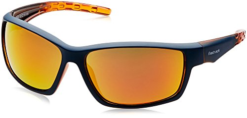 Fastrack UV Protected Sport Men\'s Sunglasses (P315OR2|62|Orange Color