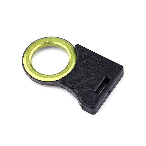 edc Werkzeug, 2Multi Outdoor Survival EDC Seil Cutter Schneiden Seil lap-belt Cut Haken Daumengriff Pocket Utility EDC Schlüsselanhänger Key Ring (Multi Utility-messer)
