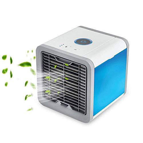 SUNMAY Aire Acondicionado Móvil, 3-en-1 Mini Ventilador Humidificador Purificador de Aire Personal USB Climatizador Portátil para Dormitorio/Oficina