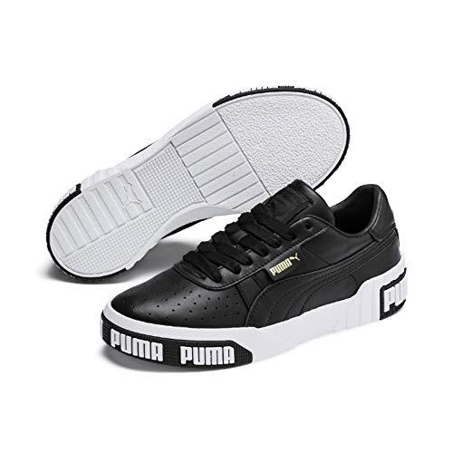 Puma Damen Cali Bold WN's Sneaker, (Black-Metallic Gold 03), 40 EU -