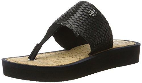 Marc O'Polo - 70314031004607 Beach Sandal, Sandali Donna nero (nero)