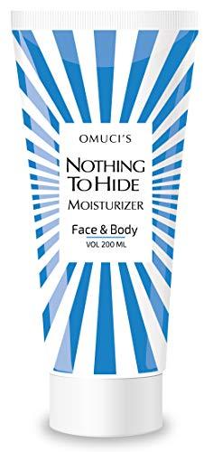 Crema hidratante facial y corporal ecológica Nothing To Hide de Omuci. Apta para veganos, ingredientes 100% naturales