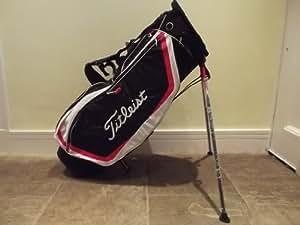 Titleist 2013 Lightweight SE 4 Way Divider Stand Bag Colour Black/White/Red New