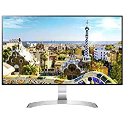 LG 27 inch Borderless Monitor Full HD Color Calibrated IPS Monitor with inbuilt Speaker (27MP89HM)