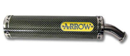 Marmitta Arrow 2T Round di Sil homologiert CAGIVA MITO 125'94' 06(N3Version)