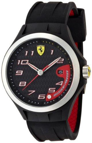 ferrari-830012-reloj-analogico-de-cuarzo-para-hombre-correa-de-silicona-color-negro