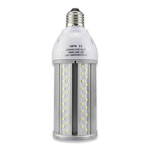 Tongsung LED-Lampen, 20W Natürlich Weiß (4500K) Mit breitem Eingangsspannung AC85V-265V, Super Bright Light Output(2040 lm), Mit Aluminiumlegierung Bau und Staubschutz (Schutzstufe : IP64). E27 Cap