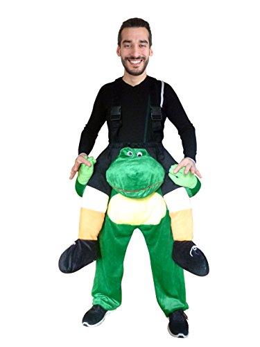 Ikumaal Carry-me Frosch- Kostüm-e F109 One Size Frau-en Männ-er Fasching-s ()