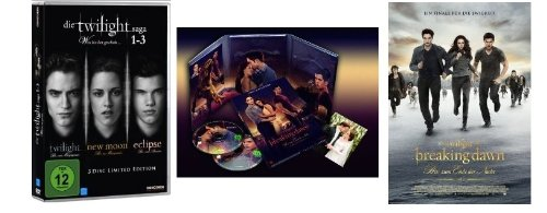 Twilight 1-5 * Teil 1+2+3+4.1+4.2 Breaking Dawn alle Teile (Filme Dvd Twilight)