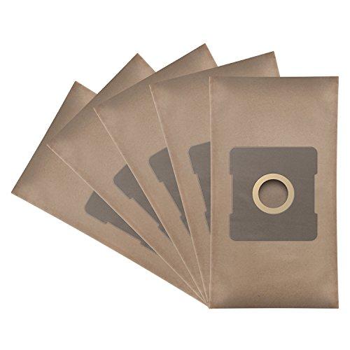 ✧WESSPER® Staubsaugerbeutel für Progress PC 3720 (5 Stück, Papiersäcke)