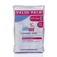 Sebamed Baby Wet Wipes 72's, Pack of 5 (Value Pack)