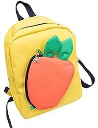 Preisvergleich für SET-SAIL Niedliche jungen und Mädchen Kinder abnehmbare Radieschen diagonal Cross Leinwand Rucksack Tasche, Schulmaterial