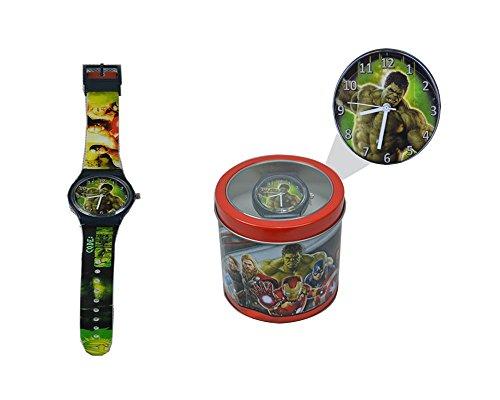 Image of Character Hulk Wrist Watch For Kids