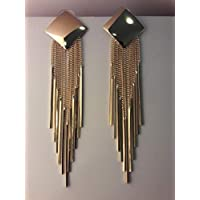 Stylish gold plated earring for women night out