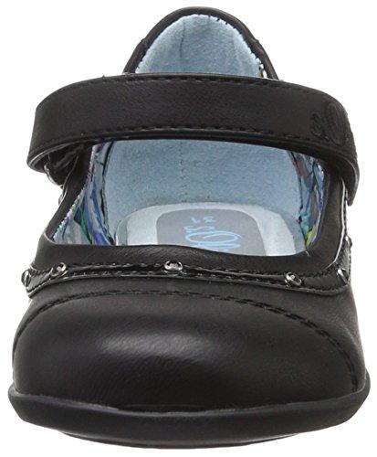 S Menina preto 001 Mary Sapatos Jane black Meio oliver 42801 66UxqrwHT