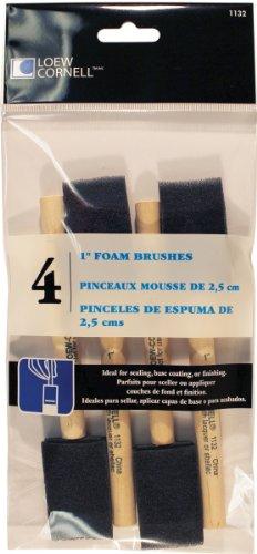Loew-cornell Pinceaux mousse (lot de 4)